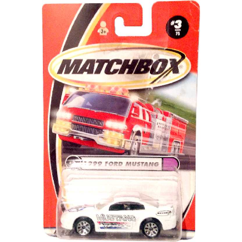 2000 Matchbox Ford Mustang GT 35th Anniversary (1999) 3/75 92203 escala 1/64