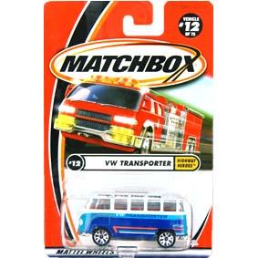 2000 Matchbox VW Kombi Volkswagen Transporter Highway Heroes #12 92215-0910