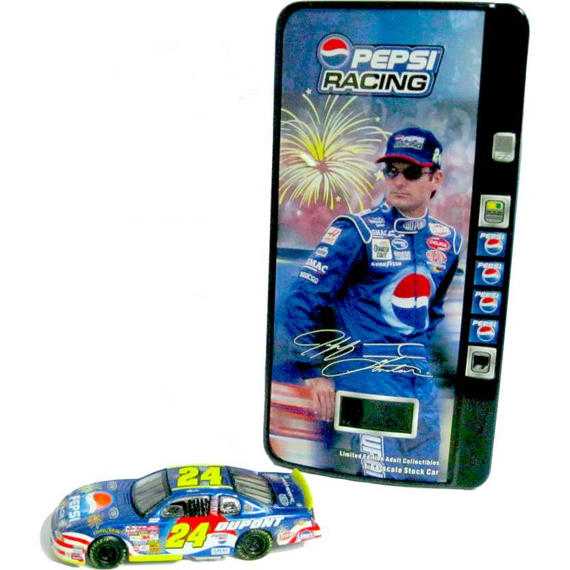 2002 Nascar Jeff Gordon ( Pepsi Car e Vending Machine ) marca Action escala 1/64