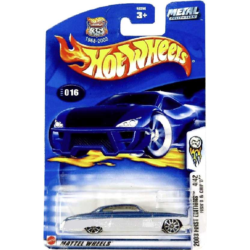 2003 Hot Wheels First Editions FishD + ChipD series #016 4/42 56356 escala 1/64