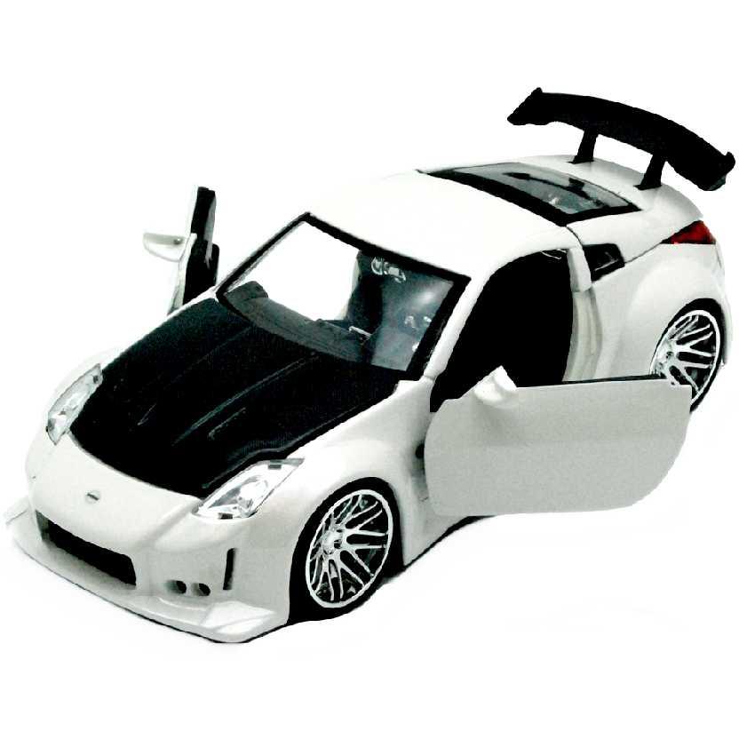 2003 Nissan 350Z branco marca Jada escala 1/24