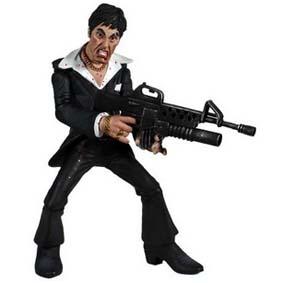 2005 Action Figures Comic Con Tony Montana ( Al Pacino ) Bonecos Mezco