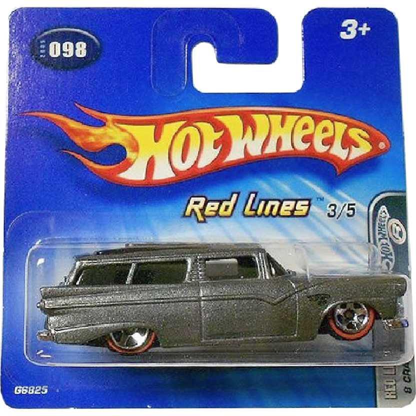 2005 Hot Wheels Red Lines 8 Crane series #098 3/5 G6825 escala 1/64