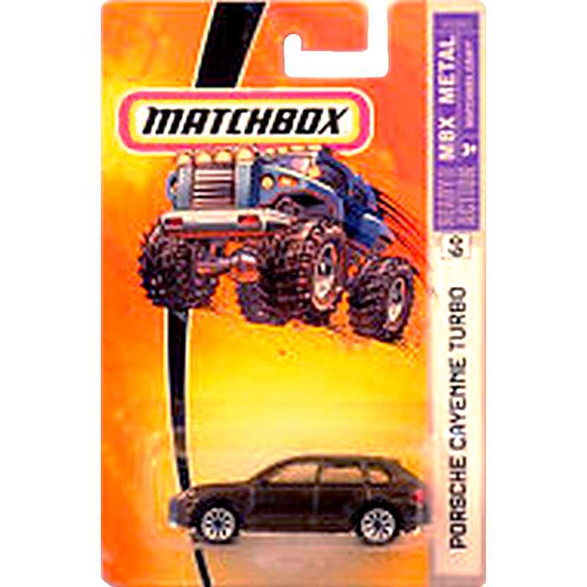 2005 Matchbox Porsche Cayenne Turbo escala 1/64 H1861