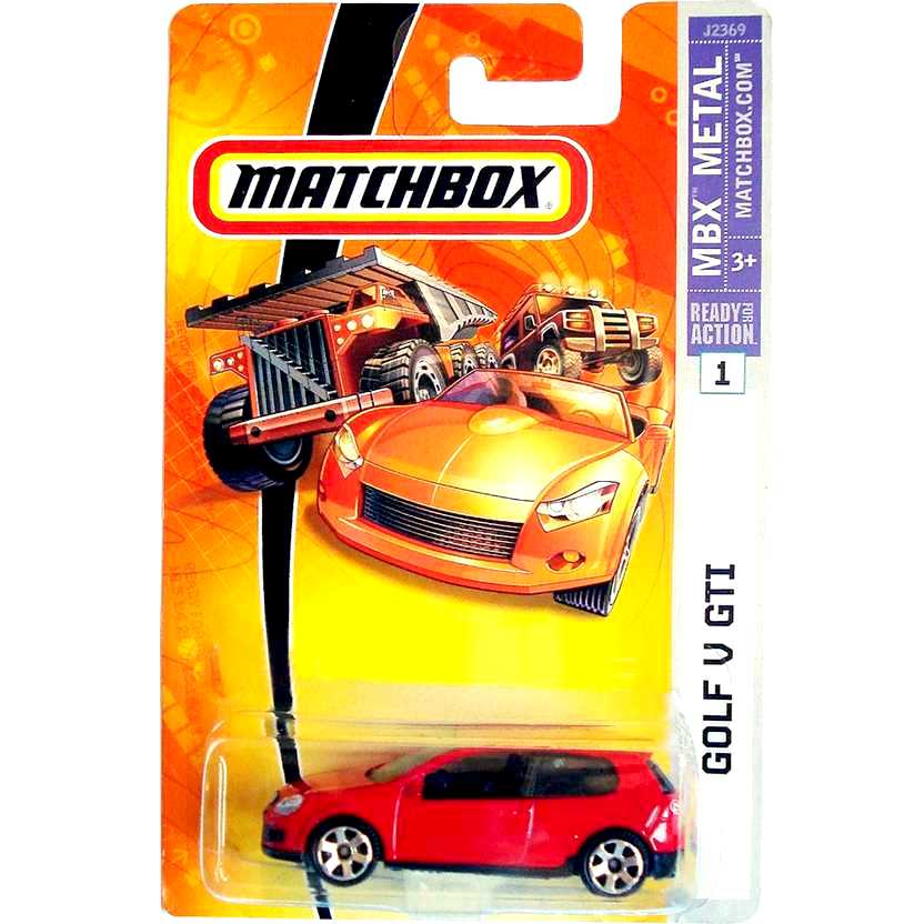 2006 Matchbox Golf V GTI escala 1/64 #1 J2369 30782