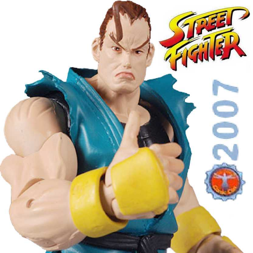 2007 Exclusive San Diego Comic Con Street Fighter Revolution Dan Hibiki Sota Toys