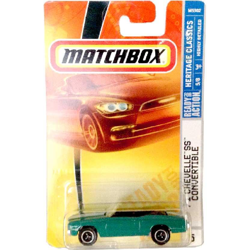 2007 Matchbox Heritage Classics 71 Chevelle SS Convertible 5/8 M5302 escala 1/64