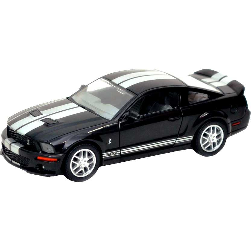 2007 Shelby GT500 preto marca Yat Ming escala 1/24