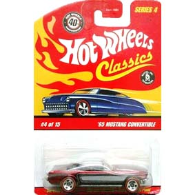 2008 Hot Wheels Cassics 65 Mustang Convertible ( 1965 ) M1861 series 4