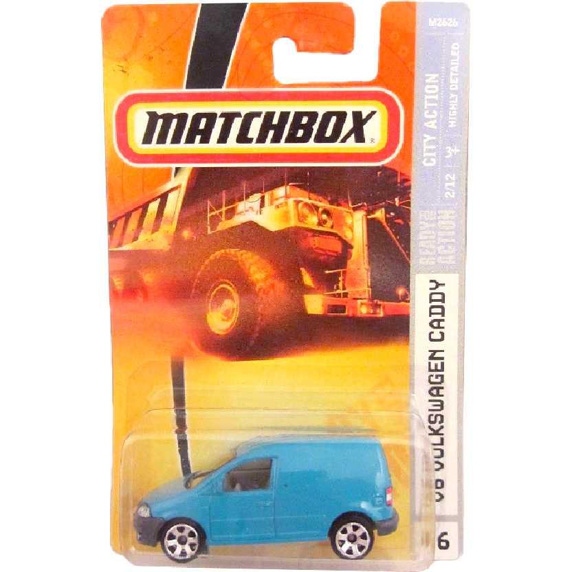 2008 Matchbox 06 VW Van Furgão Volkswagen Caddy M2626 escala 1/64
