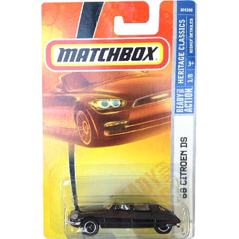 2008 Matchbox 68 Citroen DS series M4380 escala 1/64