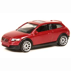 2008 Matchbox Volvo C30 P2932 ( carro do Edward Cullen ) escala 1/64