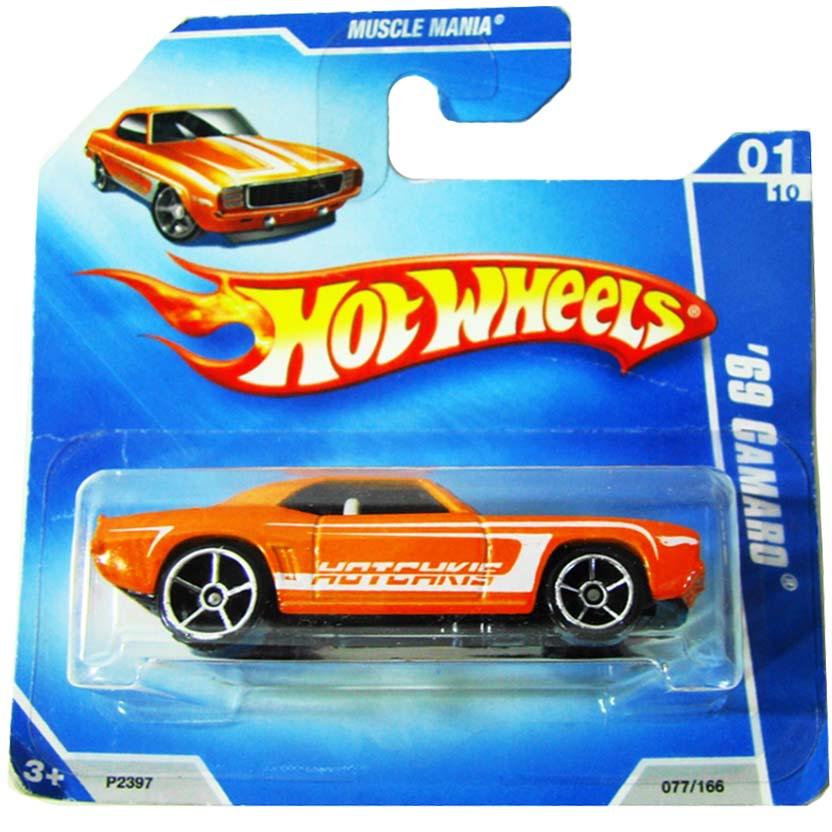 2009 Hot Wheels 69 Camaro P2397 series 01/10 077/166