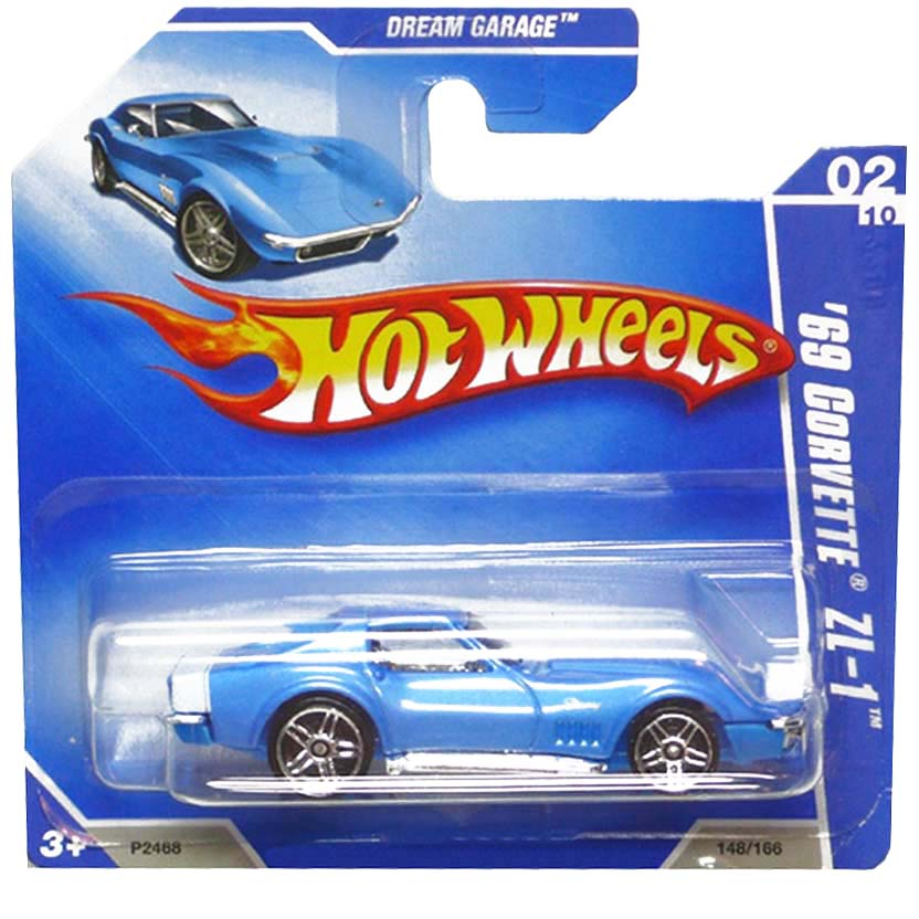 2009 Hot Wheels 69 Corvette ZL-1 P2468 series 02/10 148/166