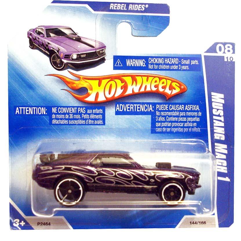2009 Hot Wheels 70 Mustang Mach 1 P2464 series 08/10 144/166