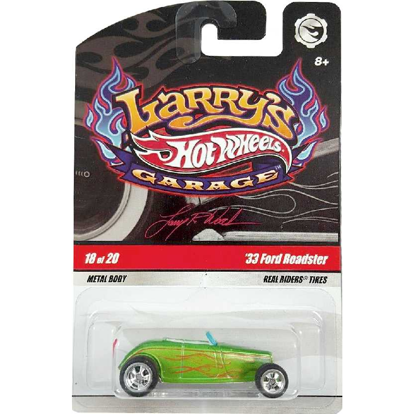 2009 Hot Wheels Larrys Garage 33 Ford Roadster series 18/20 N9062 escala 1/64