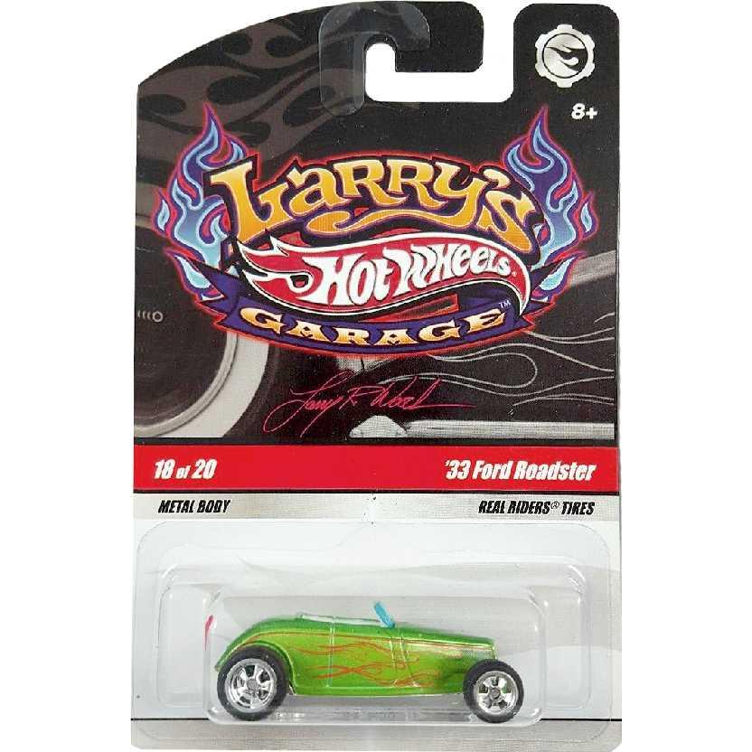 2009 Hot Wheels Larrys Garage 33 Ford Roadster series 18/20 N9062 escala 1/64