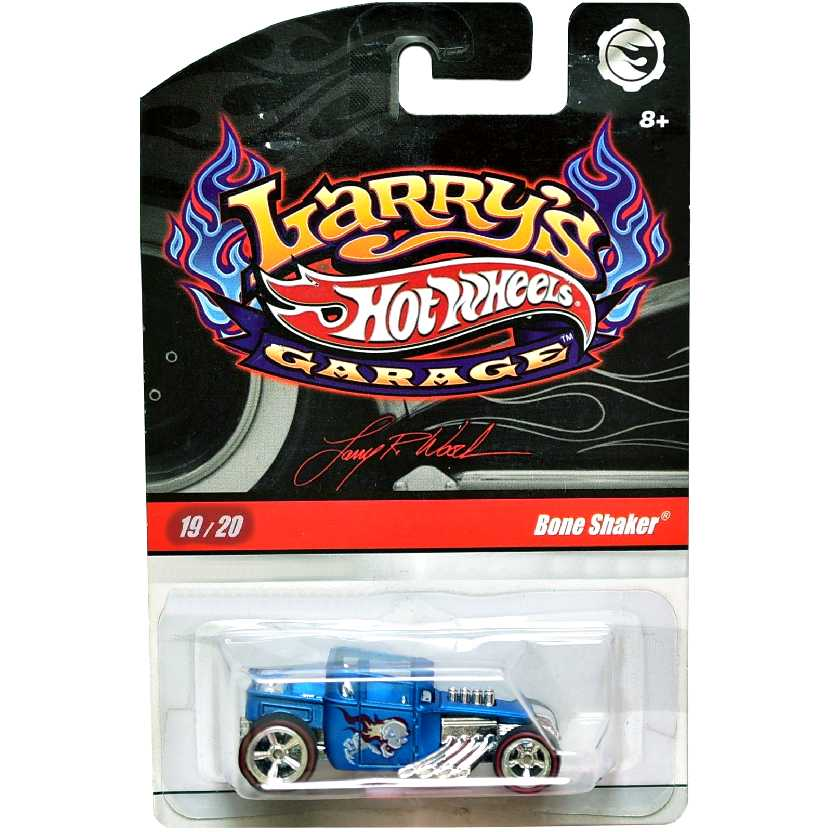 2009 Hot Wheels Larrys Garage Bone Shaker series 19/20 N9063 escala 1/64