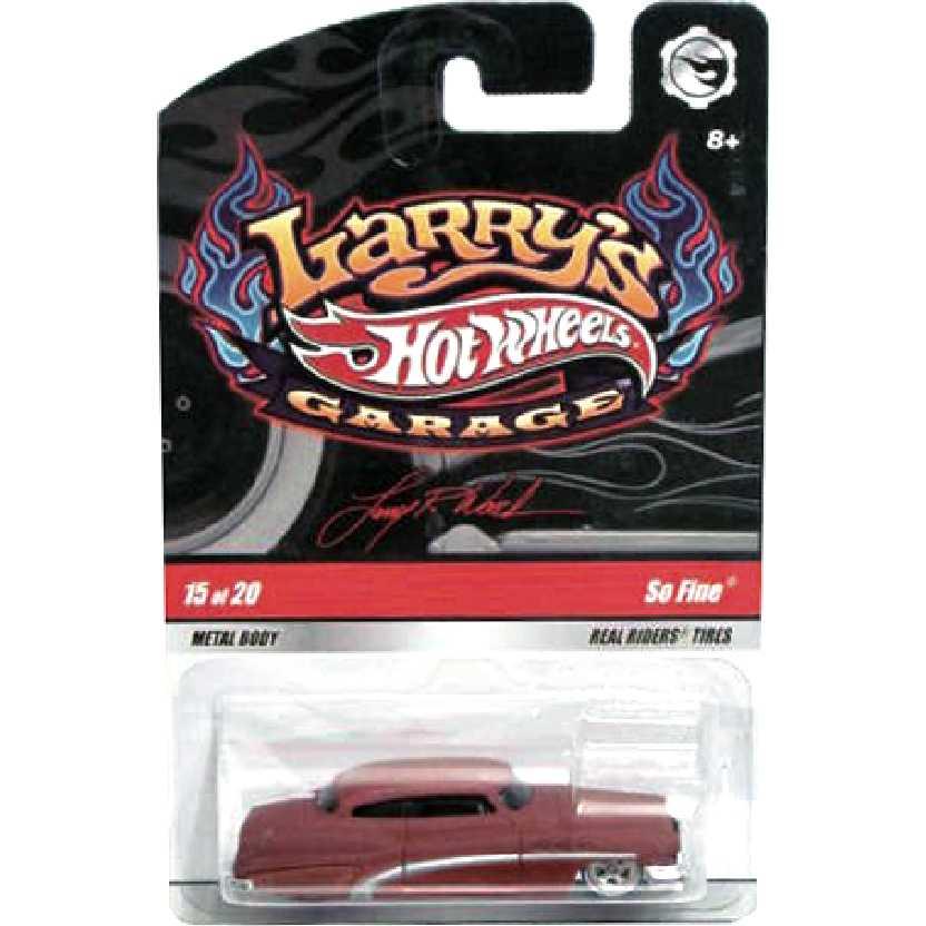 2009 Hot Wheels Larrys Garage So Fine series 15/20 N9059 escala 1/64
