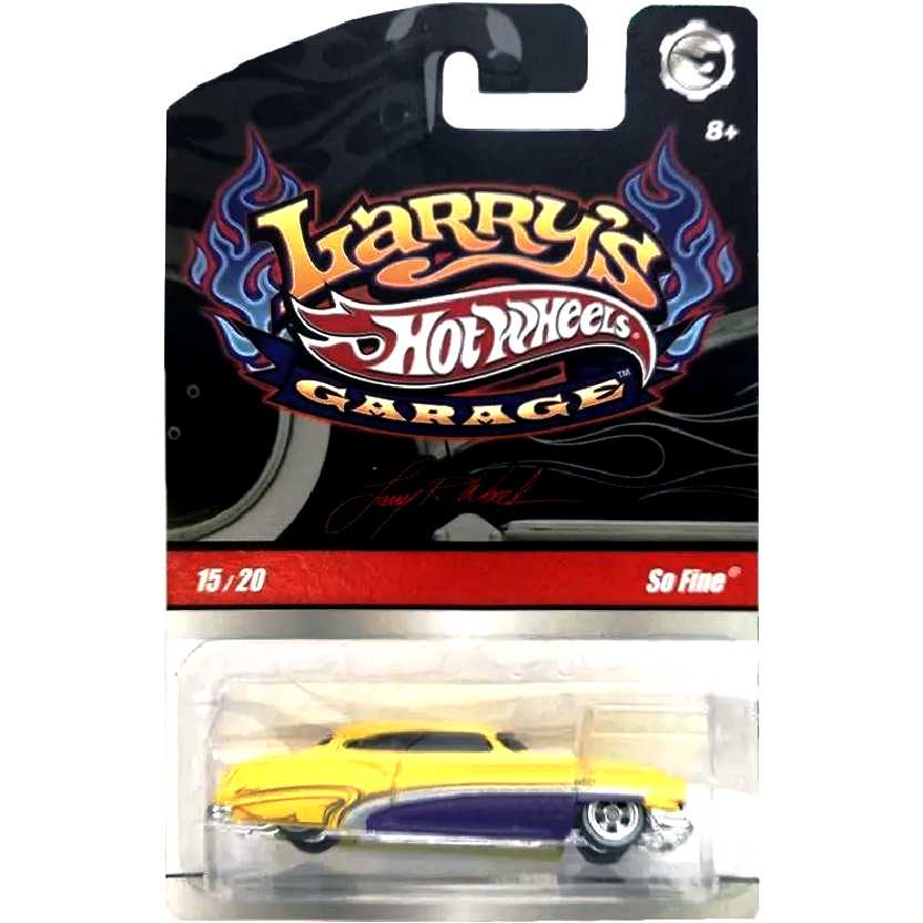 2009 Hot Wheels Larrys Garage So Fine series 15/20 N9059 escala 1/64