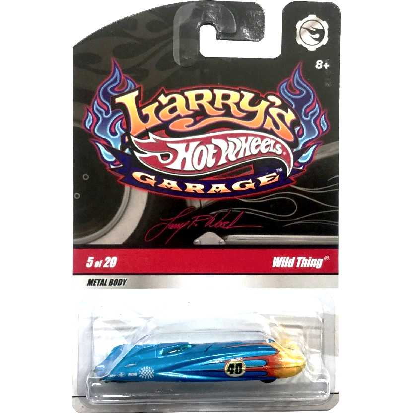 2009 Hot Wheels Larrys Garage Wild Thing series 5/20 N9058 escala 1/64