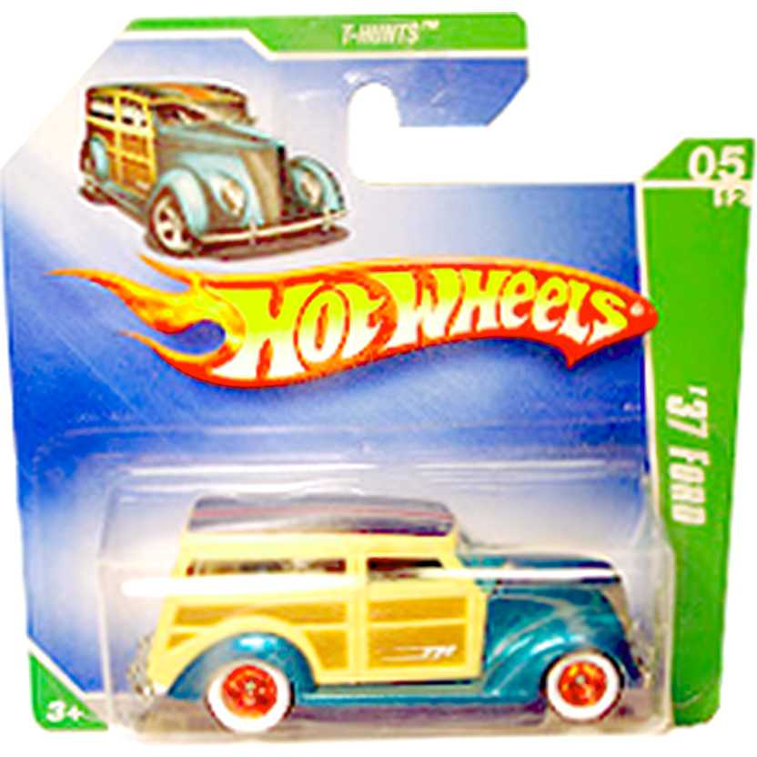 2009 Hot Wheels Super Treasure Hunt 37 Ford T-Hunt$ P2367 series 05/12 047/166 escala 1/64