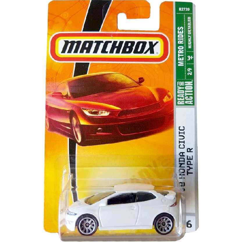 2009 Matchbox 08 Honda Civic Type R series 2/9 26 R2720 escala 1/64