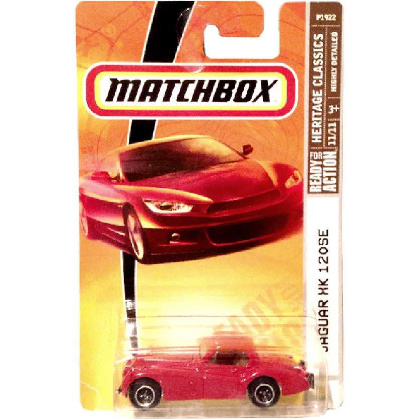 2009 Matchbox 1954 Jaguar XK 120SE 11/11 P1922 escala 1/64