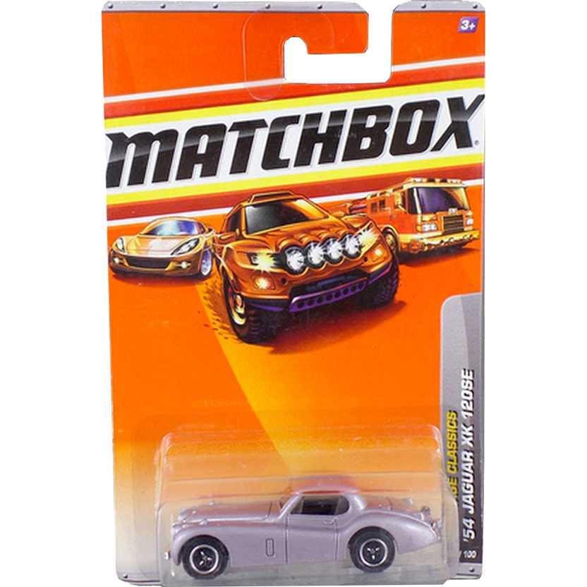 2009 Matchbox 54 Jaguar XK 120 SE 20/100 R4948 escala 1/64
