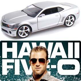 2010 Chevrolet Camaro SS prata do seriado Hawaii Five-O Danny Williams