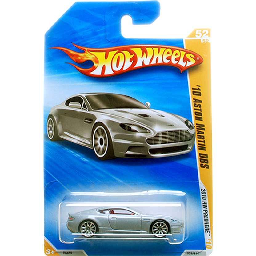 2010 Hot Wheels 10 Aston Martin DBS R6459 series 52/52 052/214 escala 1/64