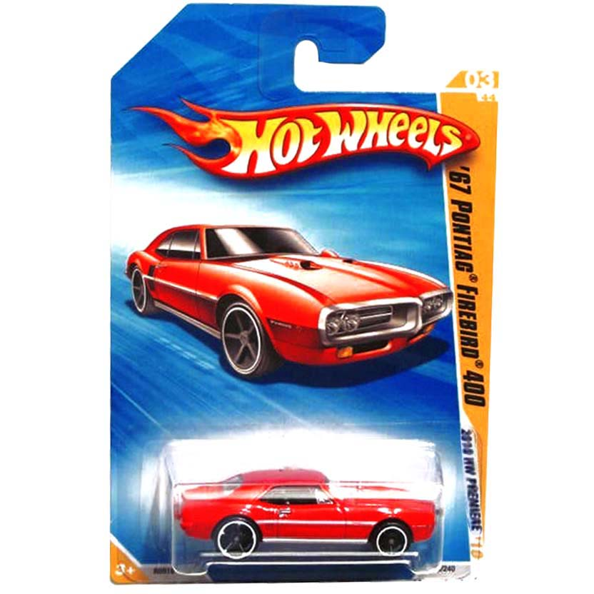 2010 Hot Wheels 67 Pontiac Firebird 400 R0918 series 03/52 003/214