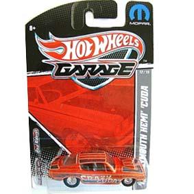 2010 Hot Wheels Garage 68 Plymouth Hemi Cuda 12/15 T8311