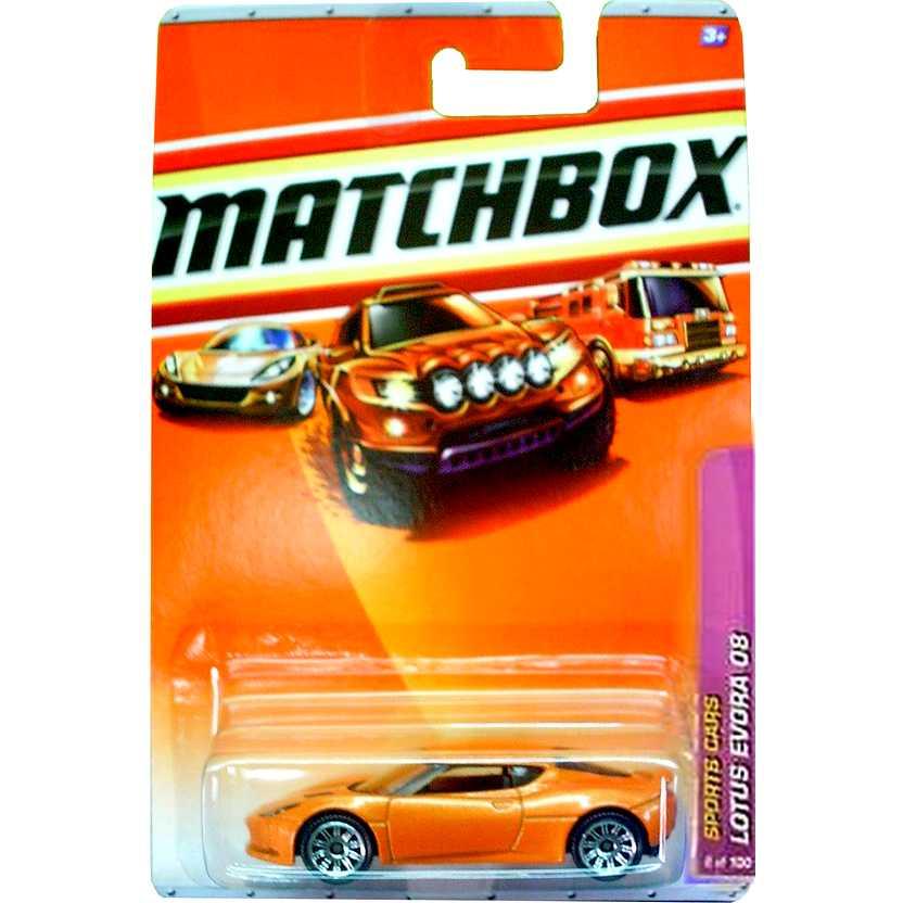 2010 Matchbox 08 Lotus Evora laranja escala 1/64 T1529 8 of 100