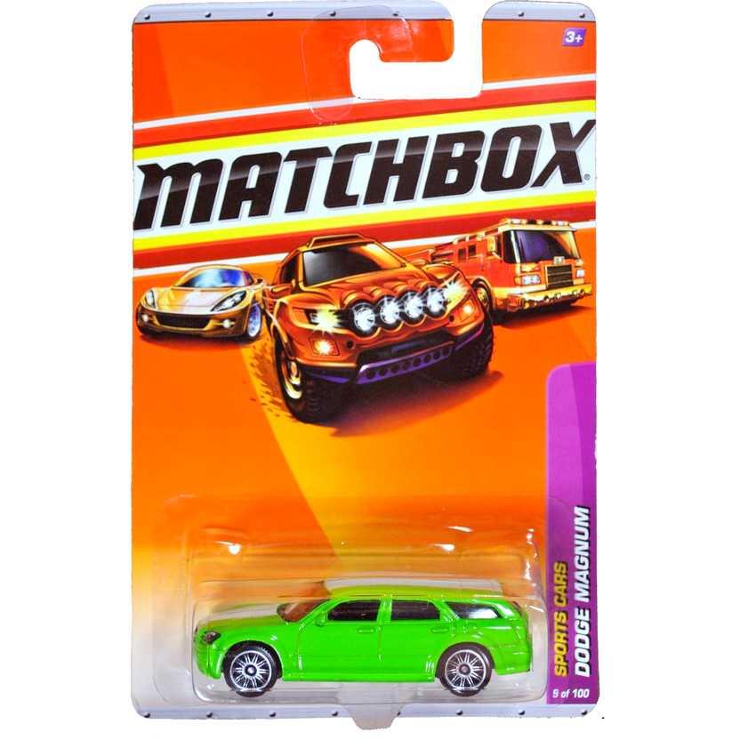 2010 Matchbox Dodge Magnum Sports Cars escala 1/64 9 of 100 R4960