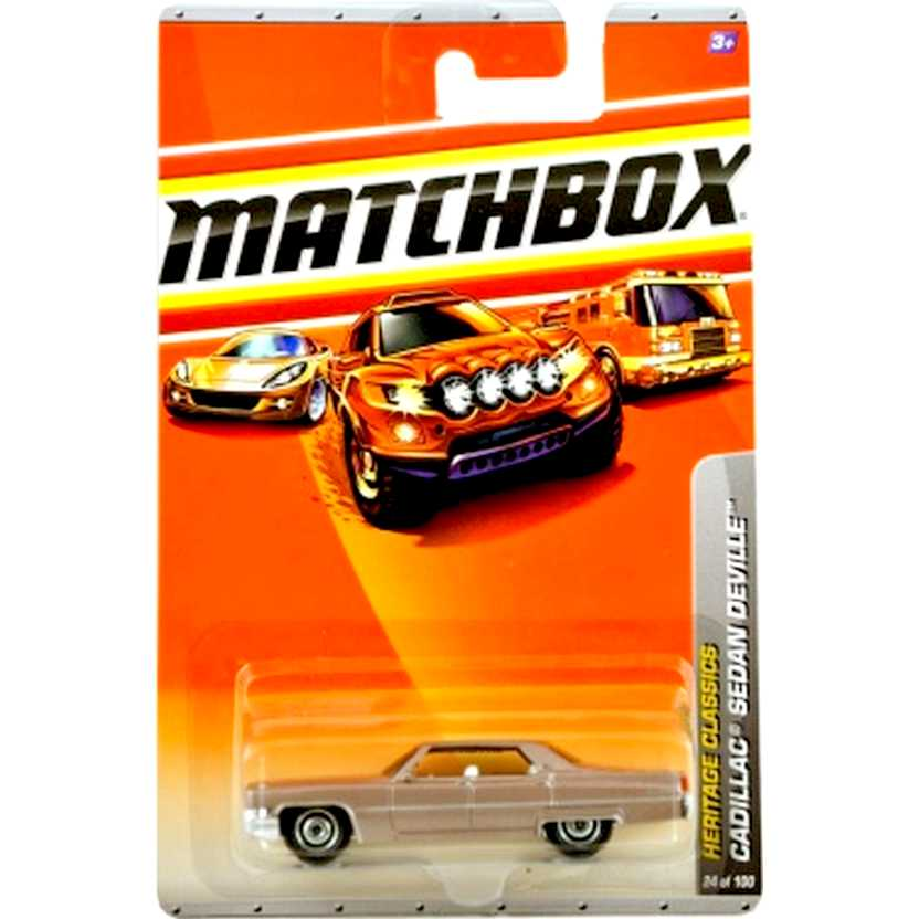 2010 Matchbox Heritage Classics Cadillac Sedan Deville escala 1/64 24 of 100 R4955