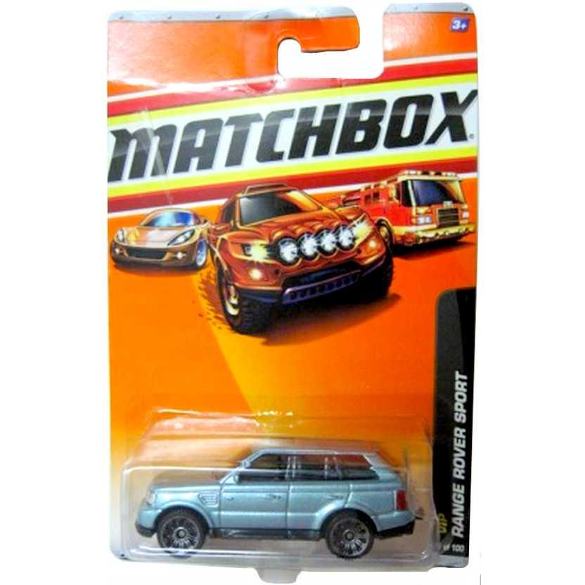 2010 Matchbox Range Rover Sport (Land Rover) escala 1/64 series 35/100 R4973