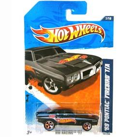 2011 Hot Wheels 69 Pontiac Firebird T/A V5226 series 7/10 157/244