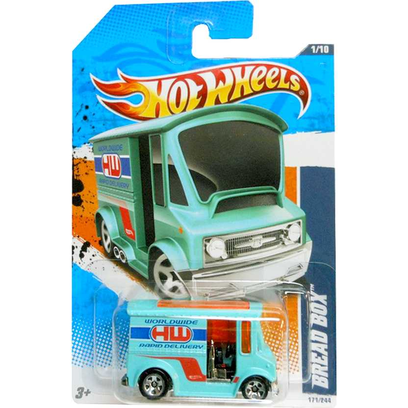 2011 Hot Wheels Bread Box T9878 series 171/244 escala 1/64