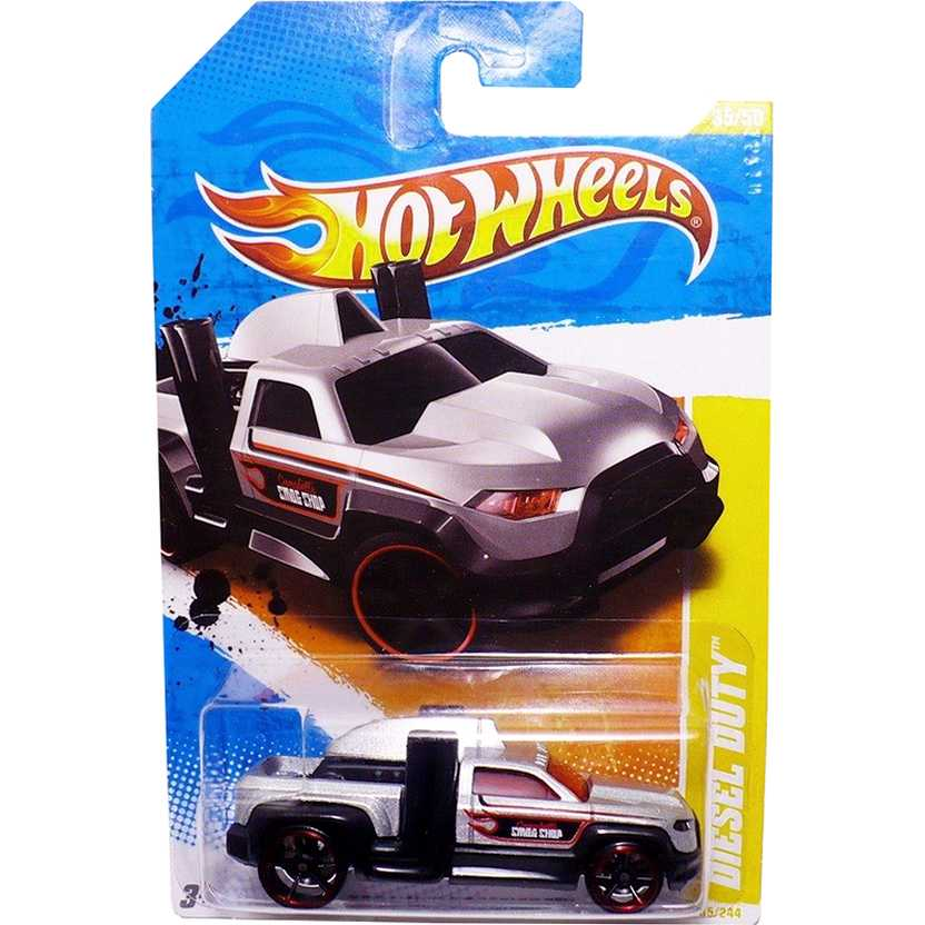 2011 Hot Wheels Diesel Duty T9705 series 35/50 35/244 escala 1/64