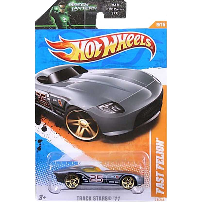 2011 Hot Wheels Fast Felion Grafite Metálico T9759 series 9/15 74/244 escala 1/64