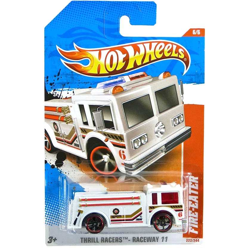 2011 Hot Wheels Fire-Eater T9929 series 6/6 222/244 escala 1/64
