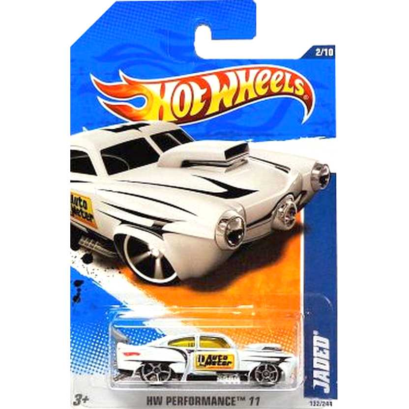 2011 Hot Wheels Jaded T9839 branco series 132/244 escala 1/64