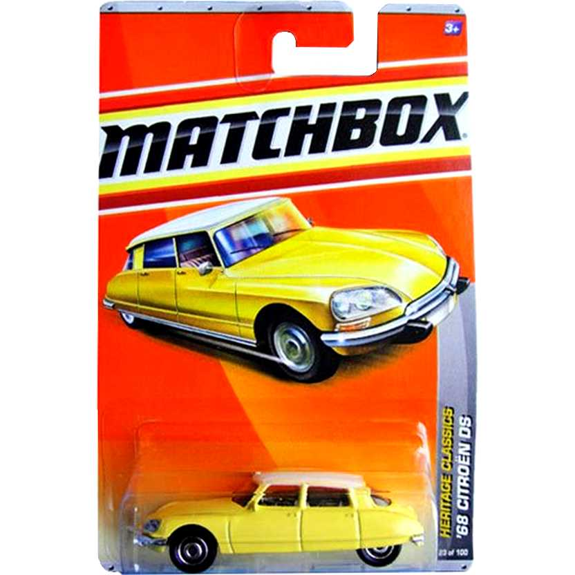 2011 Matchbox 68 Citroen DS Heritage Classics escala 1/64 23 of 100 T8908