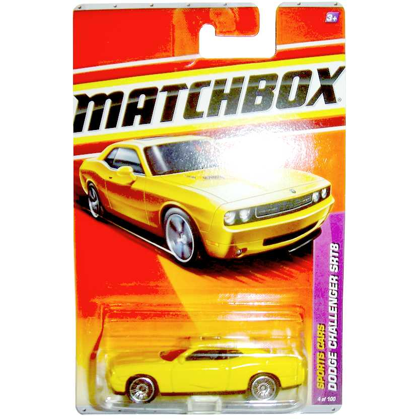 2011 Matchbox Dodge Challenger SRT8 escala 1/64 sports cars 4 of 100 T8913