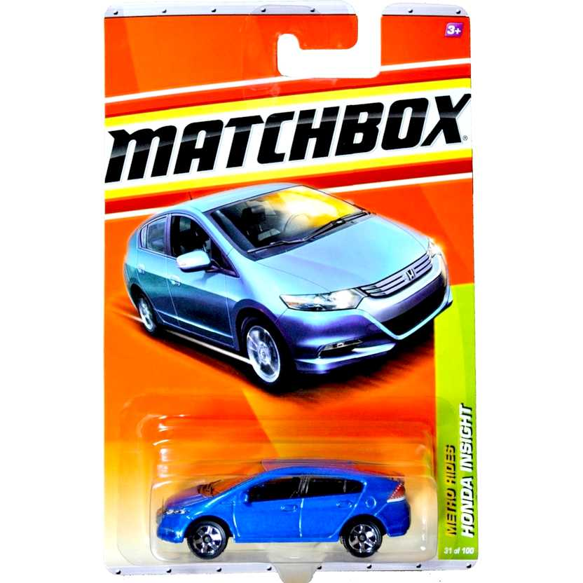 2011 Matchbox Honda Insight Metro rides escala 1/64 31 of 100 T8921