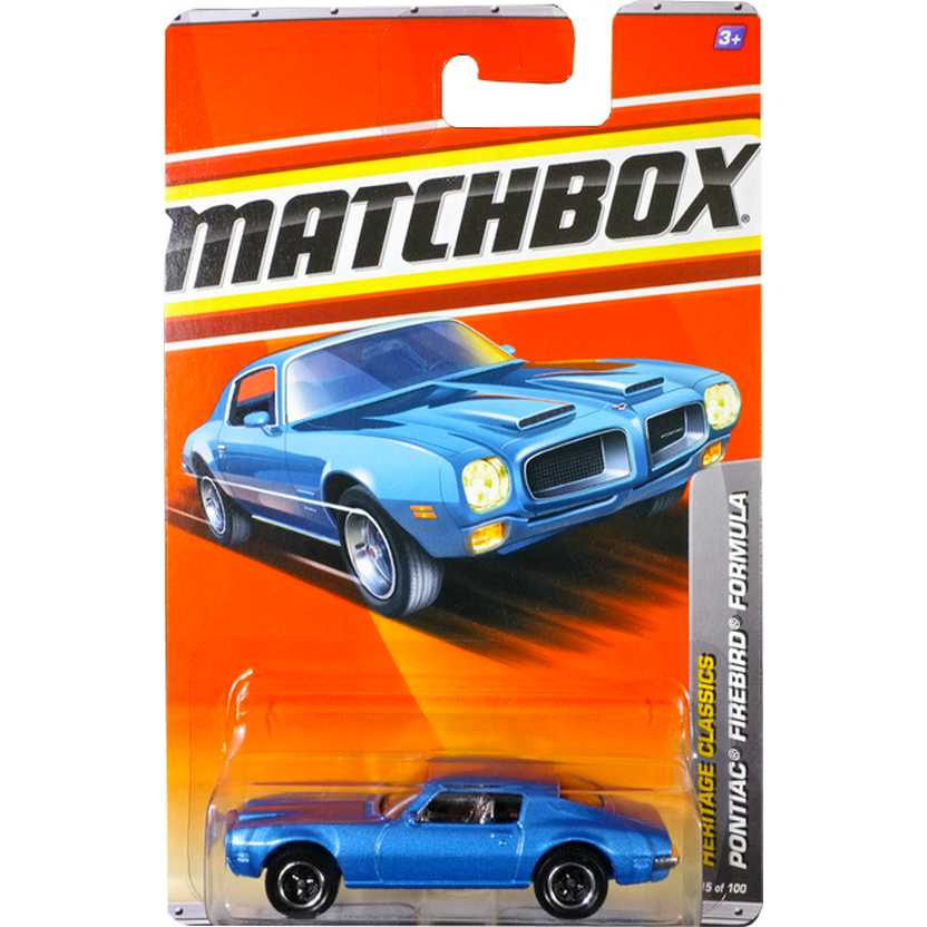 2011 Matchbox Pontiac Firebird Formula escala 1/64 15 of 100 V0271