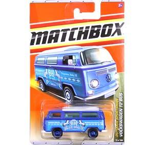 2011 Matchbox Volkswagen VW Kombi T2 Bus #79 T8979-0910