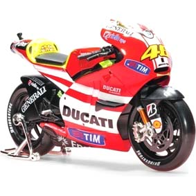 2011 Motos Maisto Miniaturas 1/10 Ducati Desmosedici MotoGP Valentino Rossi 46