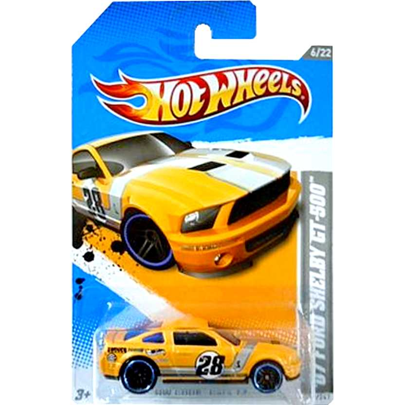 2012 Hot Wheels 07 Ford Shelby GT-500 V5535 series 231/247 escala 1/64